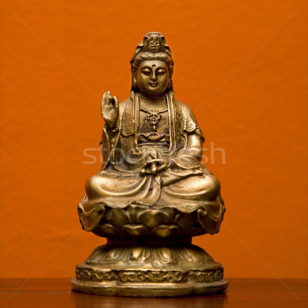 Statua dea misericordia compassione religiosa decorazione Foto d'archivio © iofoto