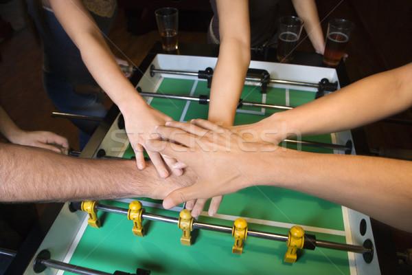 Group hands. Stock photo © iofoto