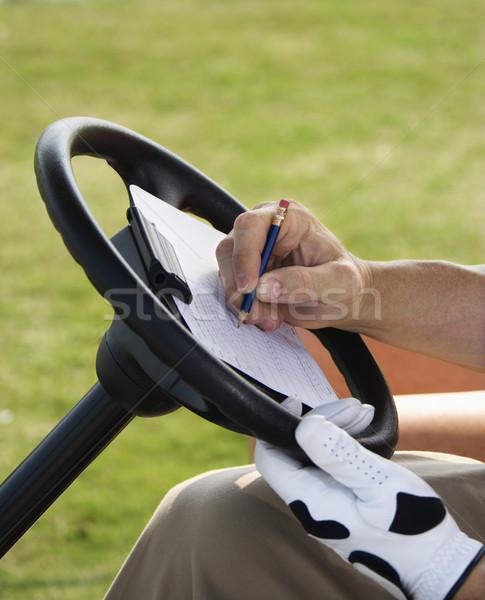 Man Scoring Golf  Stock photo © iofoto