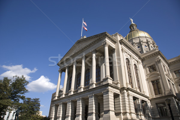 Side Entrance to a State Capitol Building Stock photo © iofoto