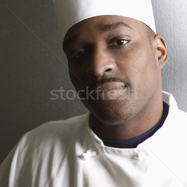 Head shot of chef. Stock photo © iofoto