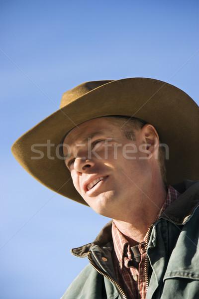 Portrait of cowboy. Stock photo © iofoto