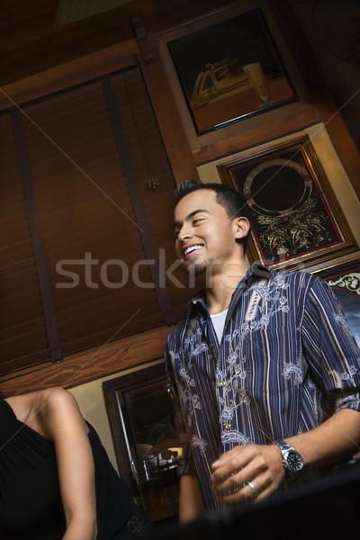 Man enjoying nightlife. Stock photo © iofoto