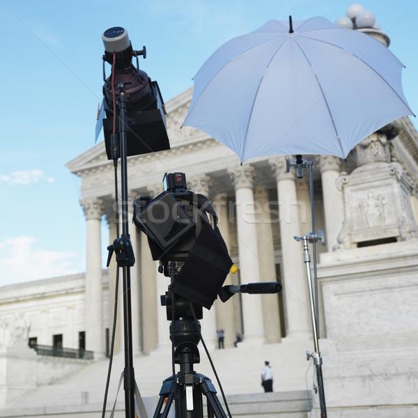 Giudice costruzione tv produzione set fotocamera Foto d'archivio © iofoto