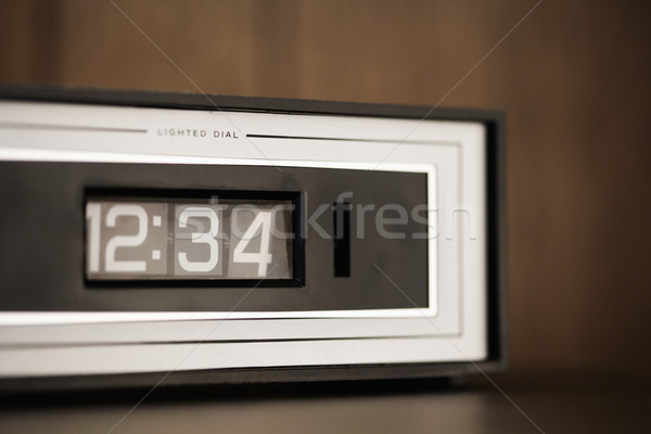 Stock photo: Retro clock.