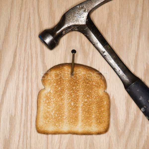 Toasted bread. Stock photo © iofoto