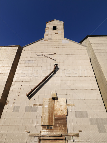 Grain elevator Stock photo © iofoto