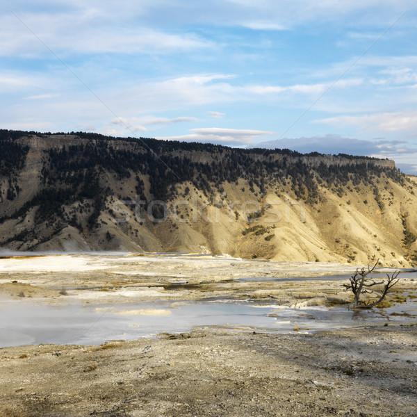 парка гор бесплодный долины Вайоминг природы Сток-фото © iofoto