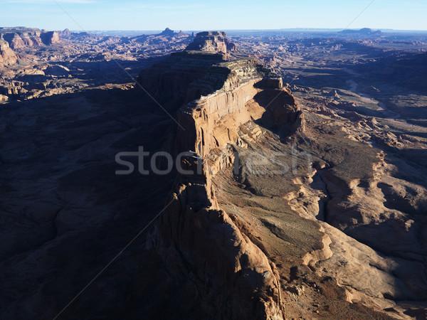 Güneybatı çöl kaya Stok fotoğraf © iofoto
