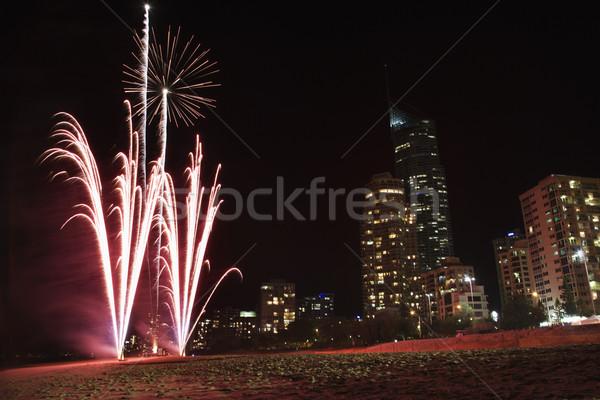 Fireworks in  Australia. Stock photo © iofoto