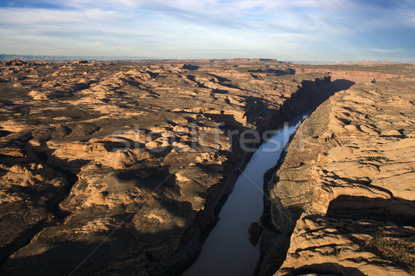 Craggy Landscape and River Stock photo © iofoto