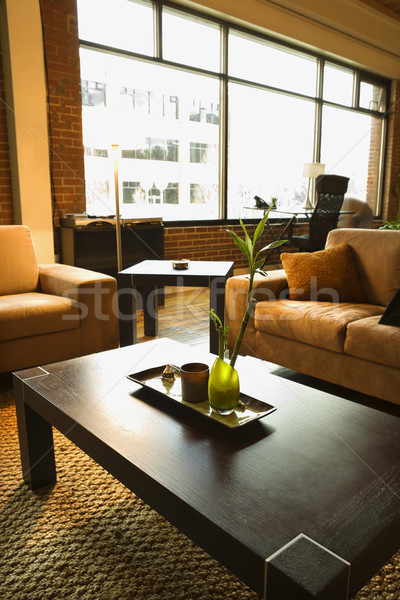 Living area of loft apartment. Stock photo © iofoto