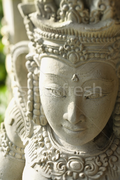 Buddhist Statue of Kuan Yin Stock photo © iofoto