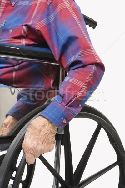 Man in wheelchair. Stock photo © iofoto