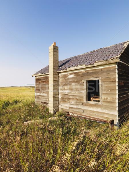 Old wooden house. Stock photo © iofoto