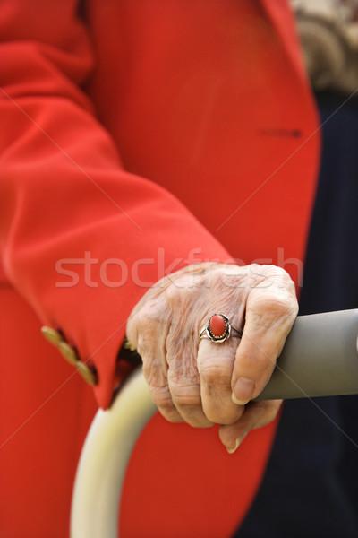 Elderly Woman's Hand Stock photo © iofoto