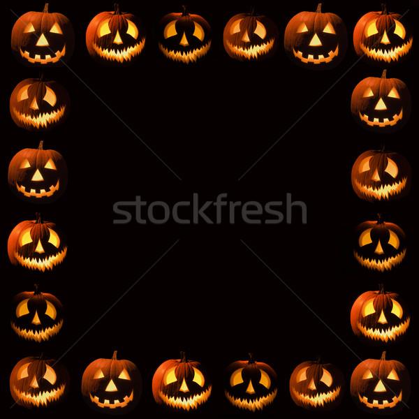 Halloween frame Stock photo © iofoto