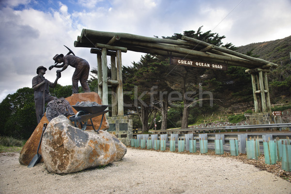 Memorial in Australia. Stock photo © iofoto