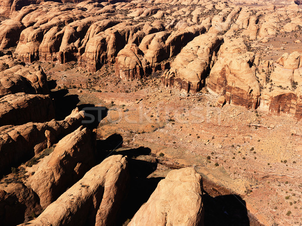 Park Utah antenne landschap rotsen Verenigde Staten Stockfoto © iofoto