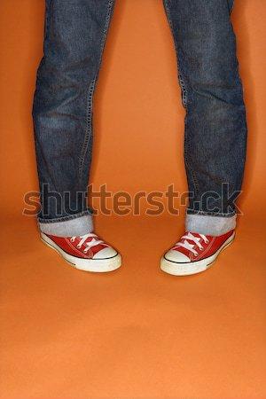 Feet turned outward. Stock photo © iofoto