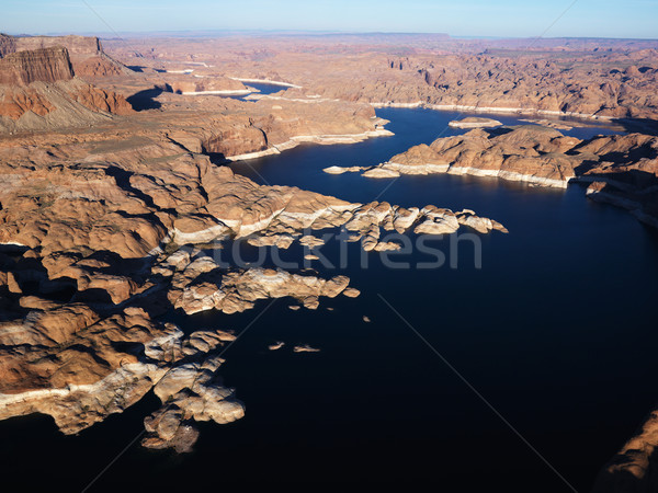 Aerial of Lake Powell. Stock photo © iofoto