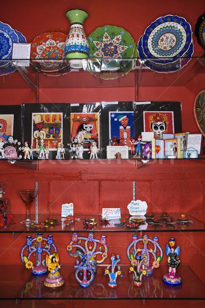 Arte tienda estantería menor tienda Foto stock © iofoto