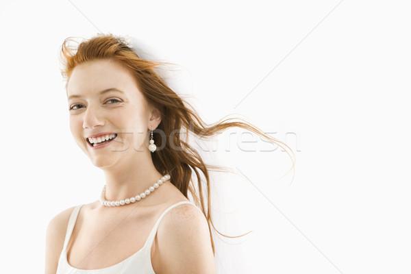 Сток-фото: невеста · волос · портрет · кавказский · женщину