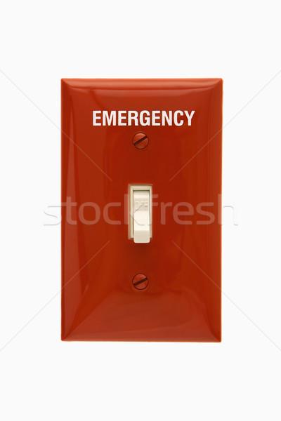 Emergency switch. Stock photo © iofoto