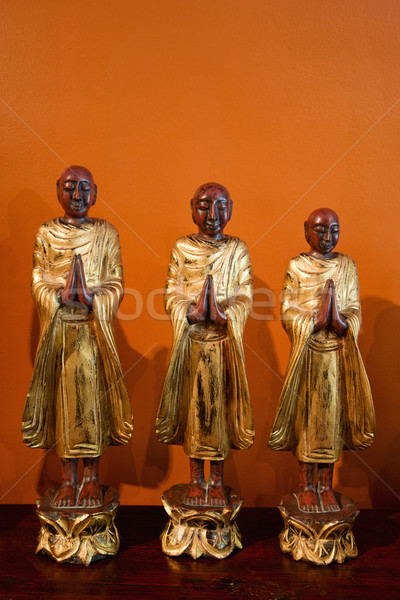 Buddhist statues. Stock photo © iofoto