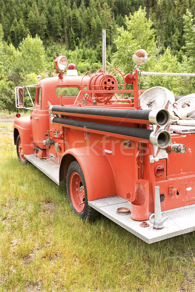 Old fire engine. Stock photo © iofoto