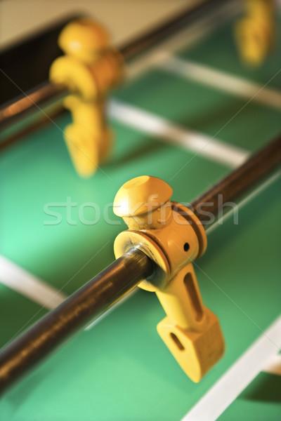 Statuetka gracz tabeli bar klub Zdjęcia stock © iofoto
