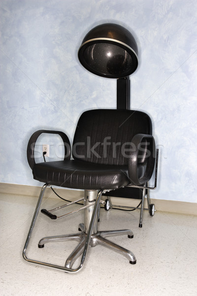 Hair Dryer Chair at Salon Stock photo © iofoto