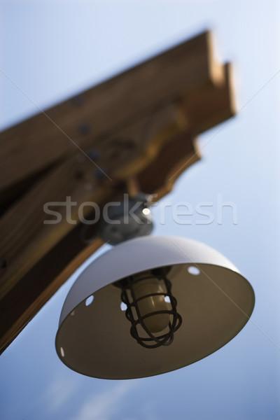 Exterior light with cover. Stock photo © iofoto