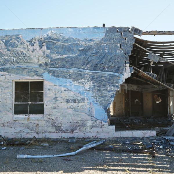 Building in disrepair. Stock photo © iofoto