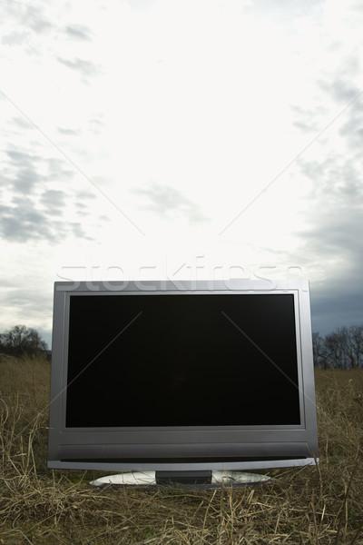 Television outside. Stock photo © iofoto