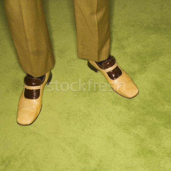 Retro man. Stock photo © iofoto