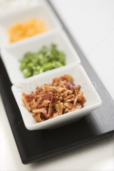 サイドディッシュ ジャガイモ サイド 料理 チーズ ストックフォト © iofoto