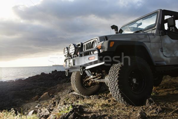 SUV at Coast Stock photo © iofoto