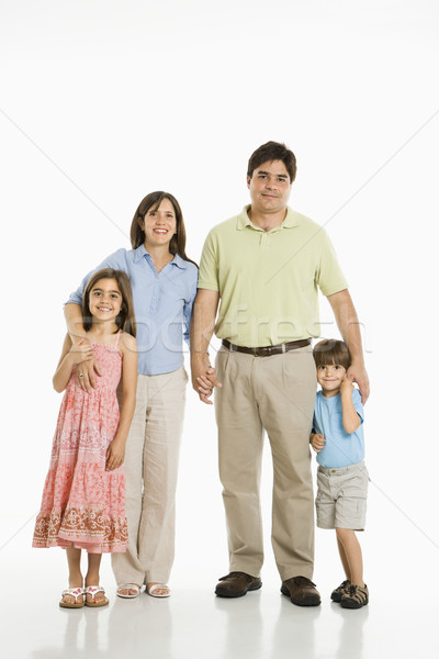 Hispanic family. Stock photo © iofoto