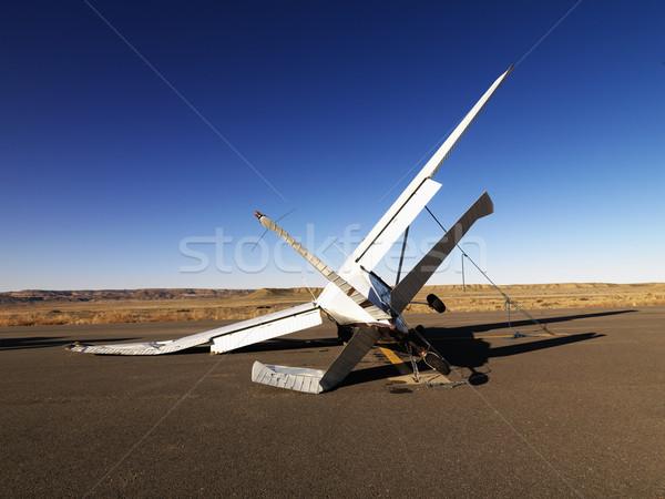 Crashed Airplane Stock photo © iofoto