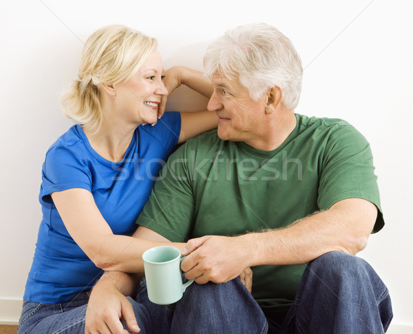 Man and woman relaxing together. Stock photo © iofoto