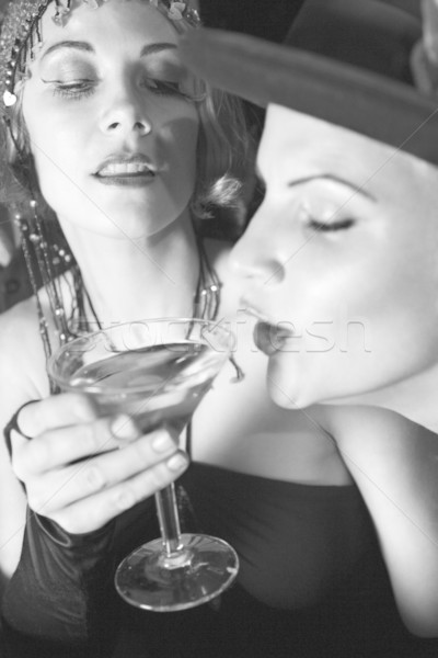 Women drinking alcohol. Stock photo © iofoto