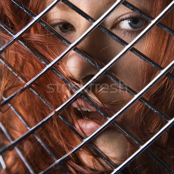 Redhead woman. Stock photo © iofoto