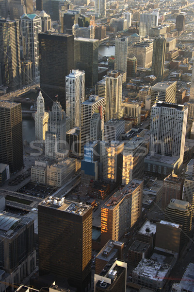 Downtown Chicago. Stock photo © iofoto
