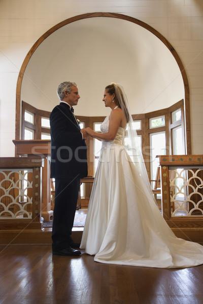 Bride and groom. Stock photo © iofoto