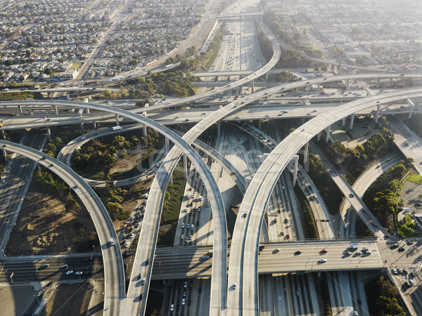 Highway interchange. Stock photo © iofoto