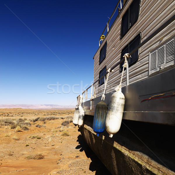 Arizona woestijn landschap vergadering landelijk Verenigde Staten Stockfoto © iofoto