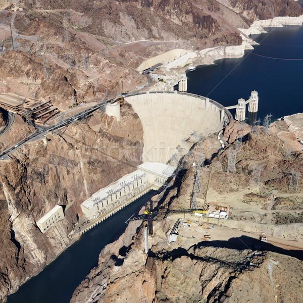 Hoover Dam, Lake Mead. Stock photo © iofoto