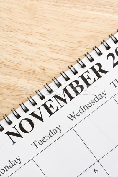 November on calendar. Stock photo © iofoto