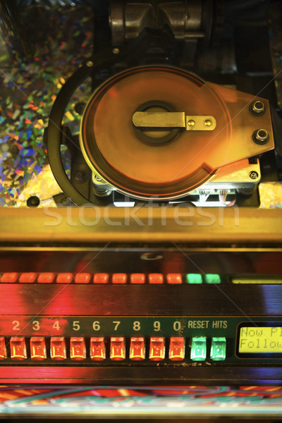 Jukebox playing music. Stock photo © iofoto